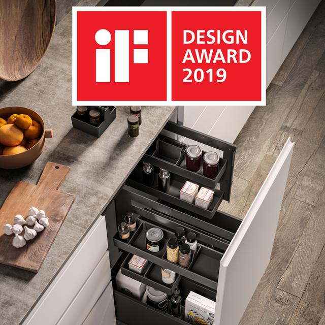 Gollinucci and Andrea Federici, winners of the prestigious iF DESIGN AWARD 2019